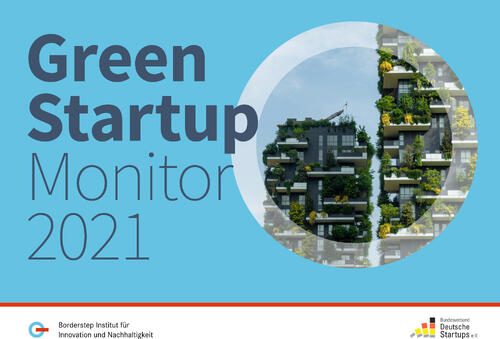 Green Start-up-Monitor 2021 © Borderstep Institut