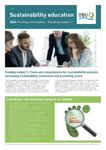 Sustainability education