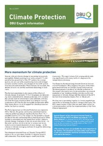 DBU Expert information - Climate Protection